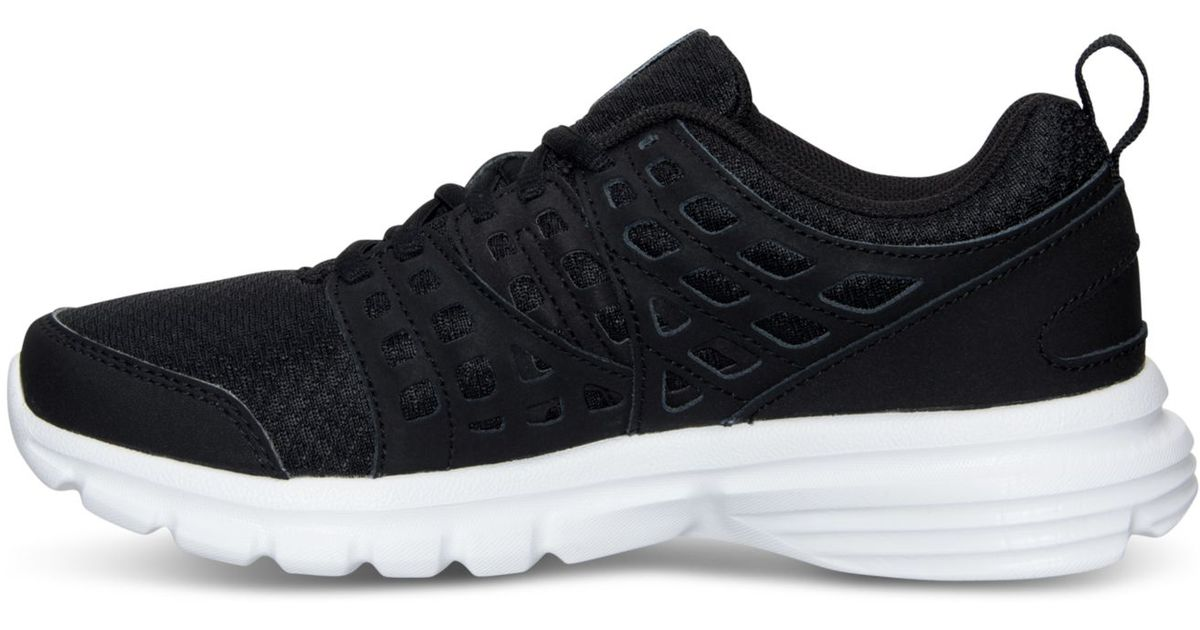 e3f082e8069fde Lyst - Reebok Women s Speed Rise Running Sneakers From Finish Line in Black