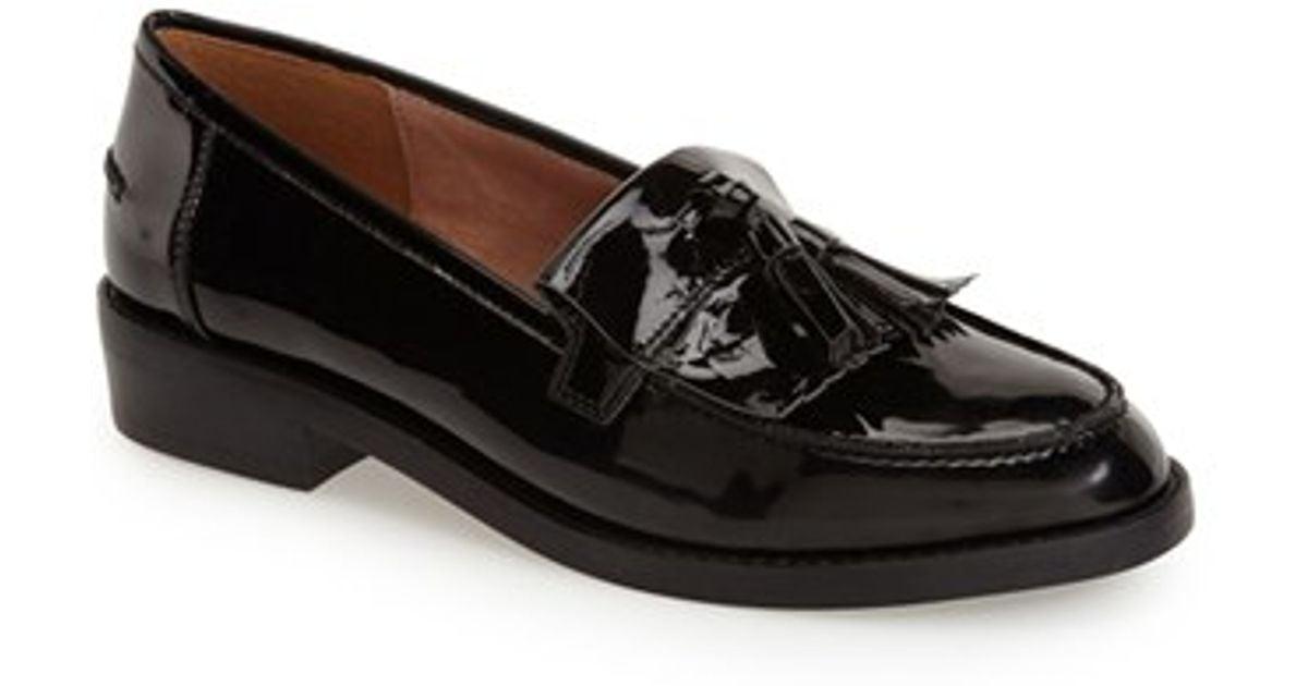 Steve madden 'meela' Loafer in Black | Lyst