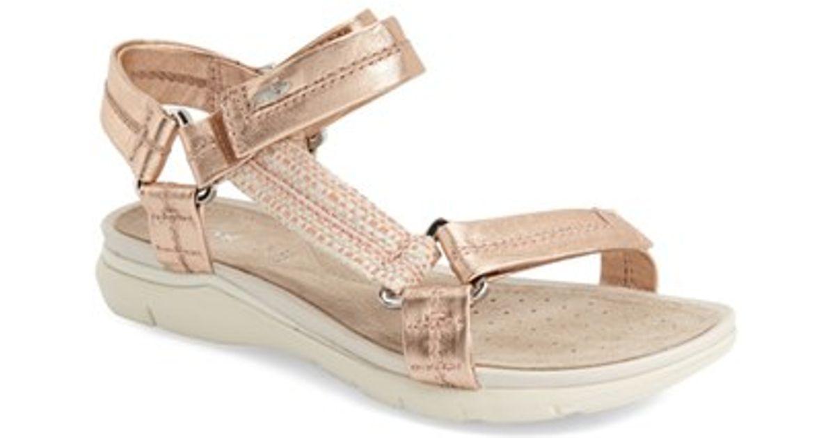 super cute brand new biggest discount Geox Pink Sukie Sandals