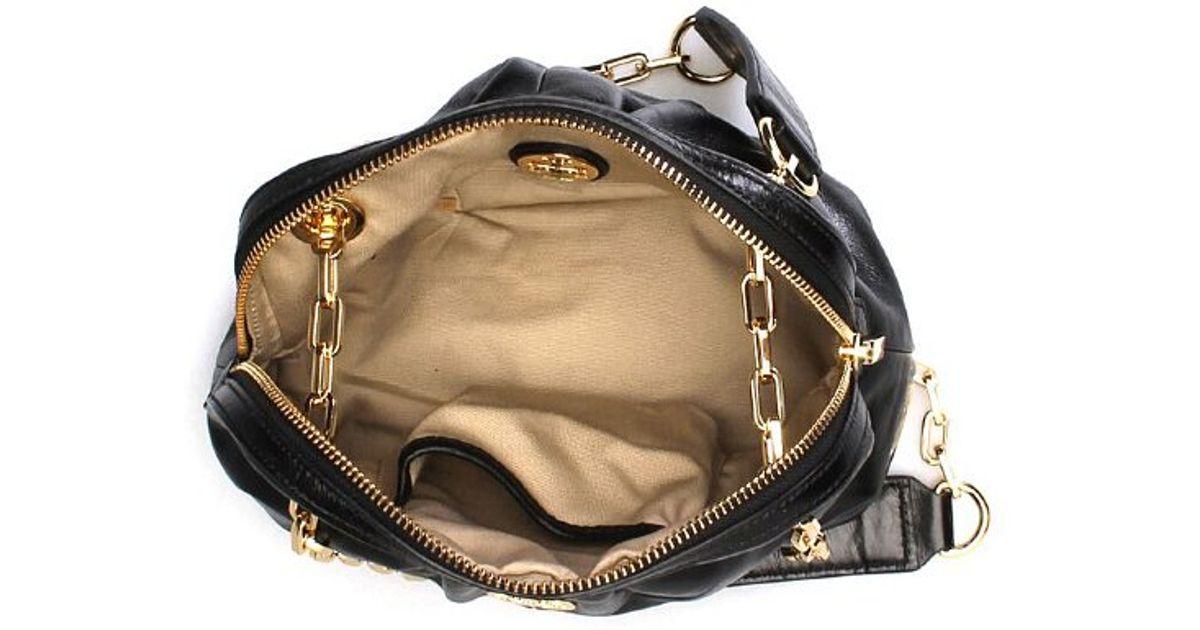331822836ed Lyst - Tory Burch Dena Mini Bag in Black