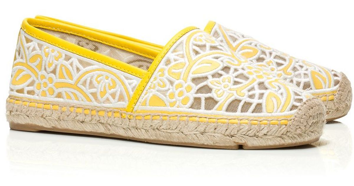 Tory Burch Lucia Lace Espadrille in