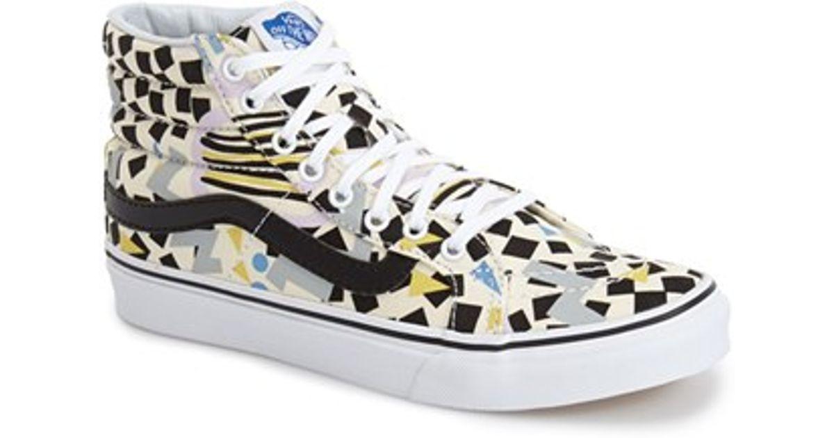 ea1f5a38a10 Lyst - Vans X Eley Kishimoto  Sk8-Hi Slim  Print Sneaker