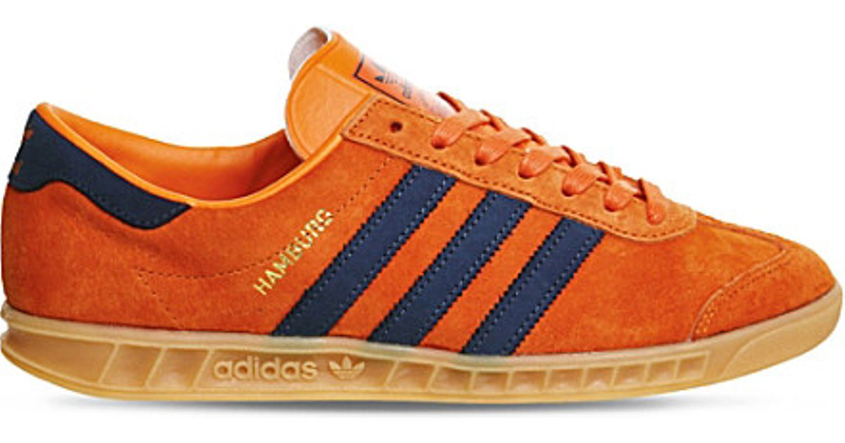 adidas Originals Hamburg Leather And