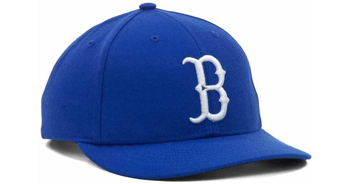 47 Authentic Brooklyn Dodgers Cooperstown Blue MLB Adjustable MVP