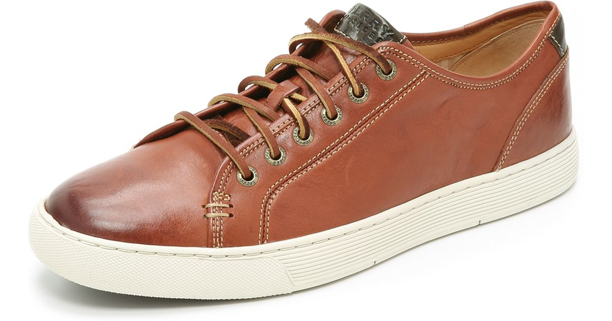 Sperry Top Sider Gold Cup Ltt Leather Sneakers In Brown