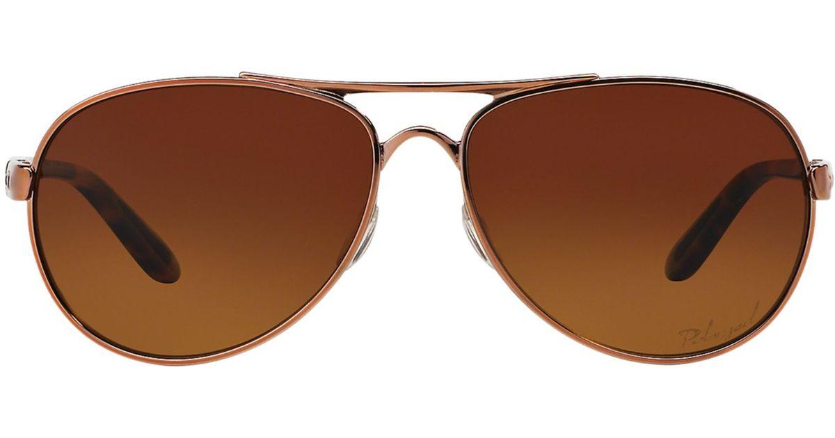 9ec077c62a ... Sunglasses Rose Gold OO4108-17. Oakley Oo4108 Tie Breaker in Pink