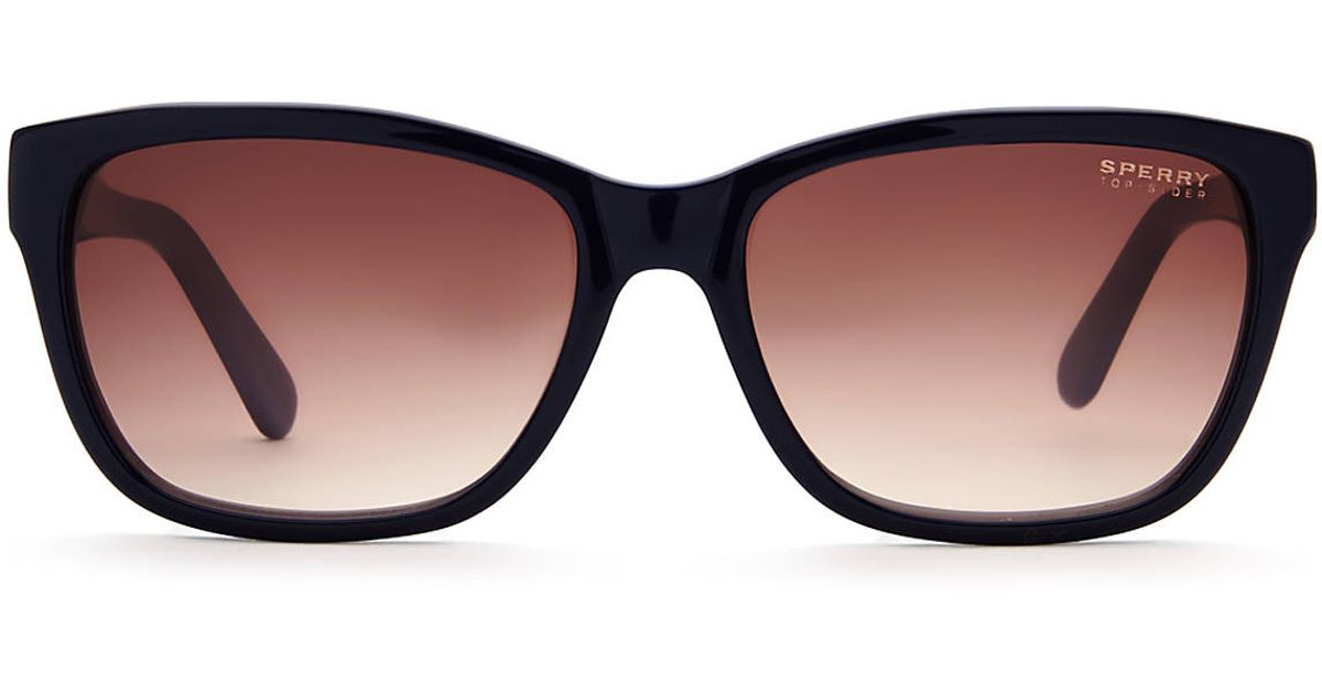 159d7bc7df Lyst - Sperry Top-Sider Top-sider Wellfleet Two-tone Navy Blue Wayfarer  Sunglasses in Blue