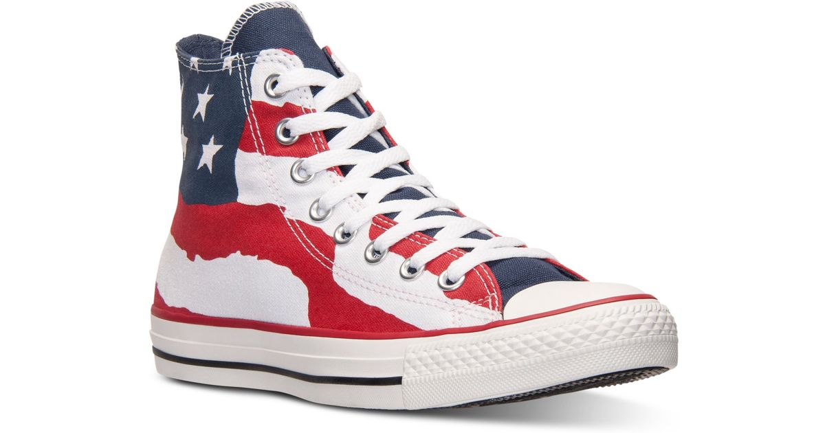 d215010a54ad Lyst - Converse Men s Chuck Taylor Hi Freedom Casual Sneakers From Finish  Line in Red for Men