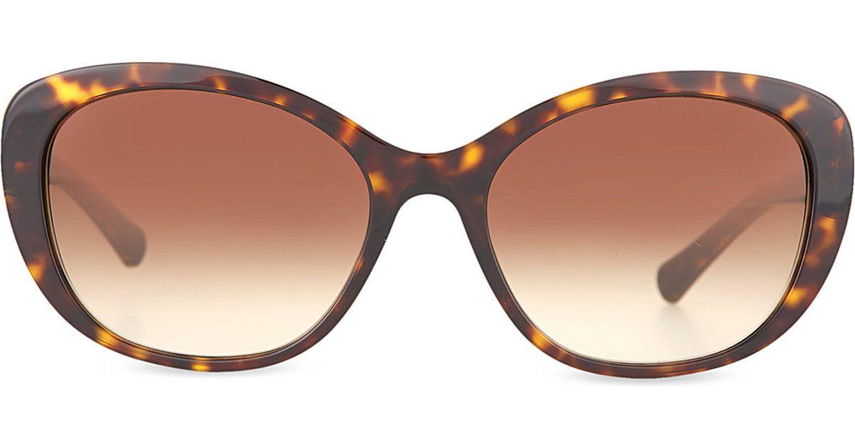 7918b678c2 Giorgio Armani Cat-eye Sunglasses in Brown for Men - Lyst