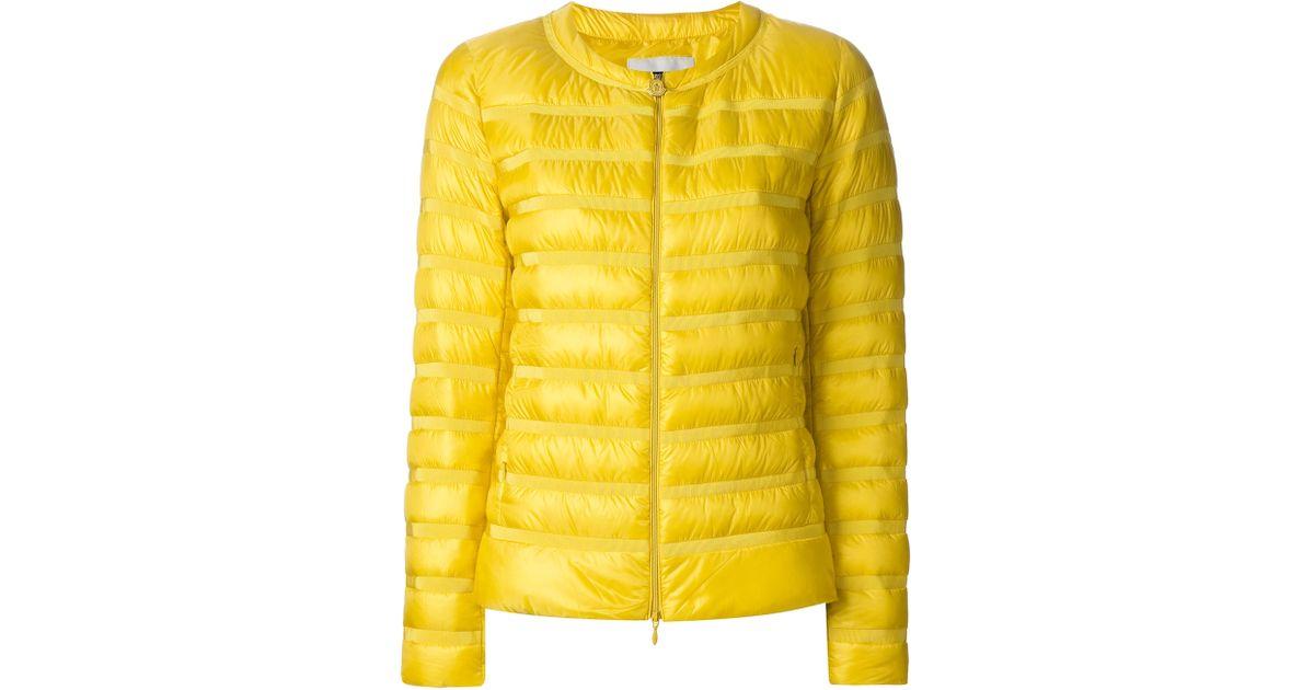 moncler yellow sweater