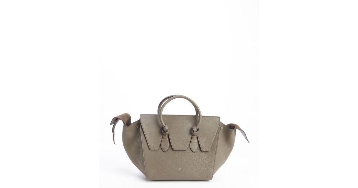 celine micro luggage tote buy online - celine khaki leather handbag cabas phantom