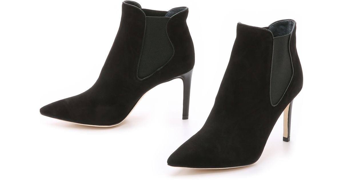 a089de2a914adc Tory Burch Dorset Booties - Black in Black - Lyst