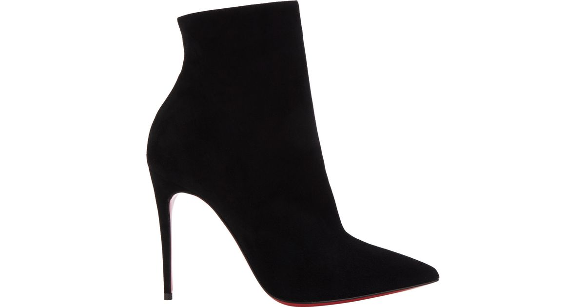 official photos eac6b 1b4f5 Christian Louboutin Black So Kate Ankle Booties