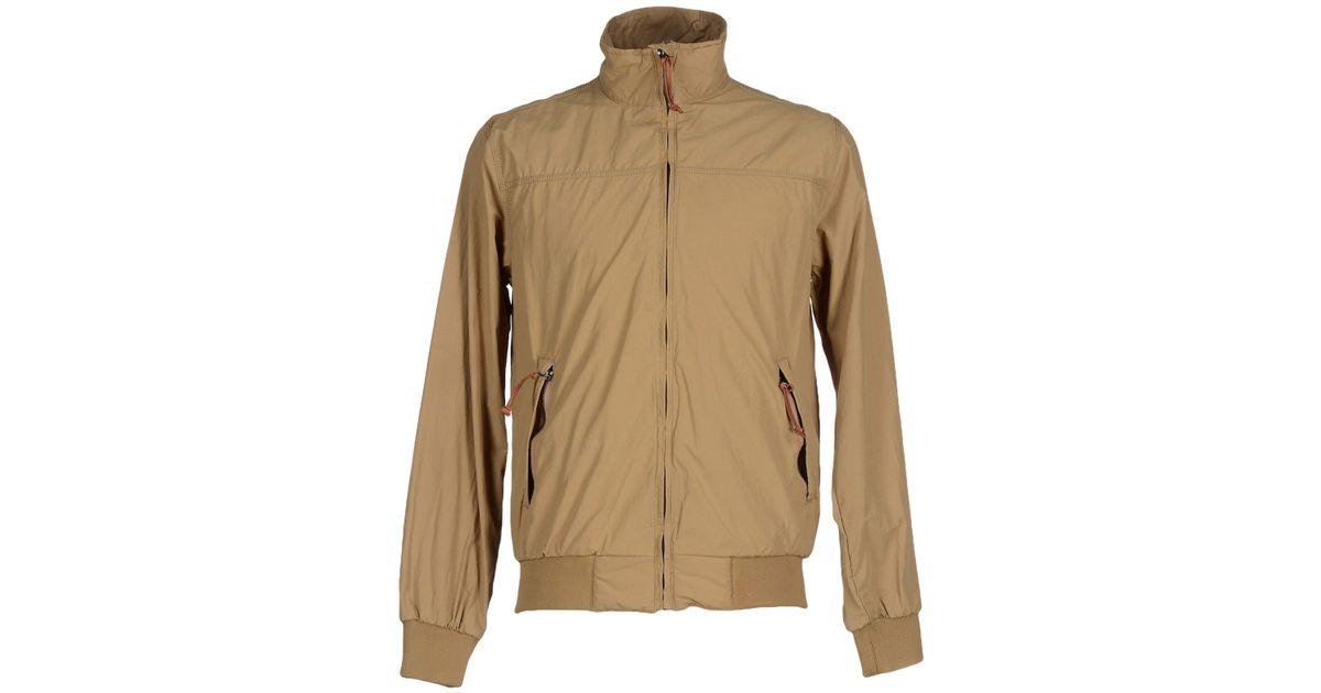 north sails jacket in brown for men lyst. Black Bedroom Furniture Sets. Home Design Ideas