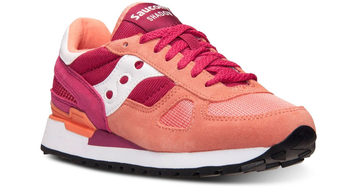 separation shoes 1a244 94ea0 Saucony Pink Women's Shadow Original Casual Sneakers From Finish Line