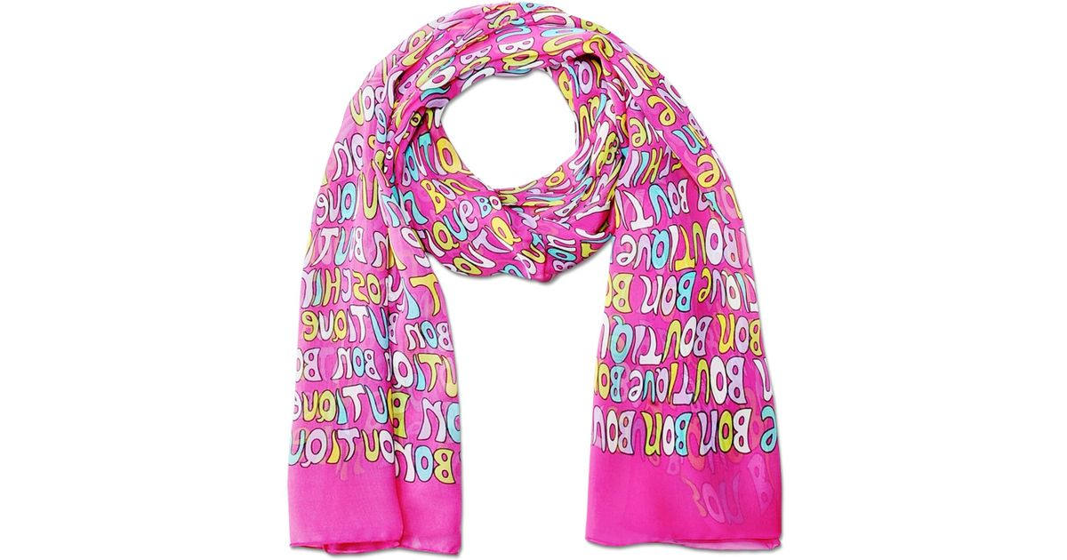 boutique moschino scarf lyst