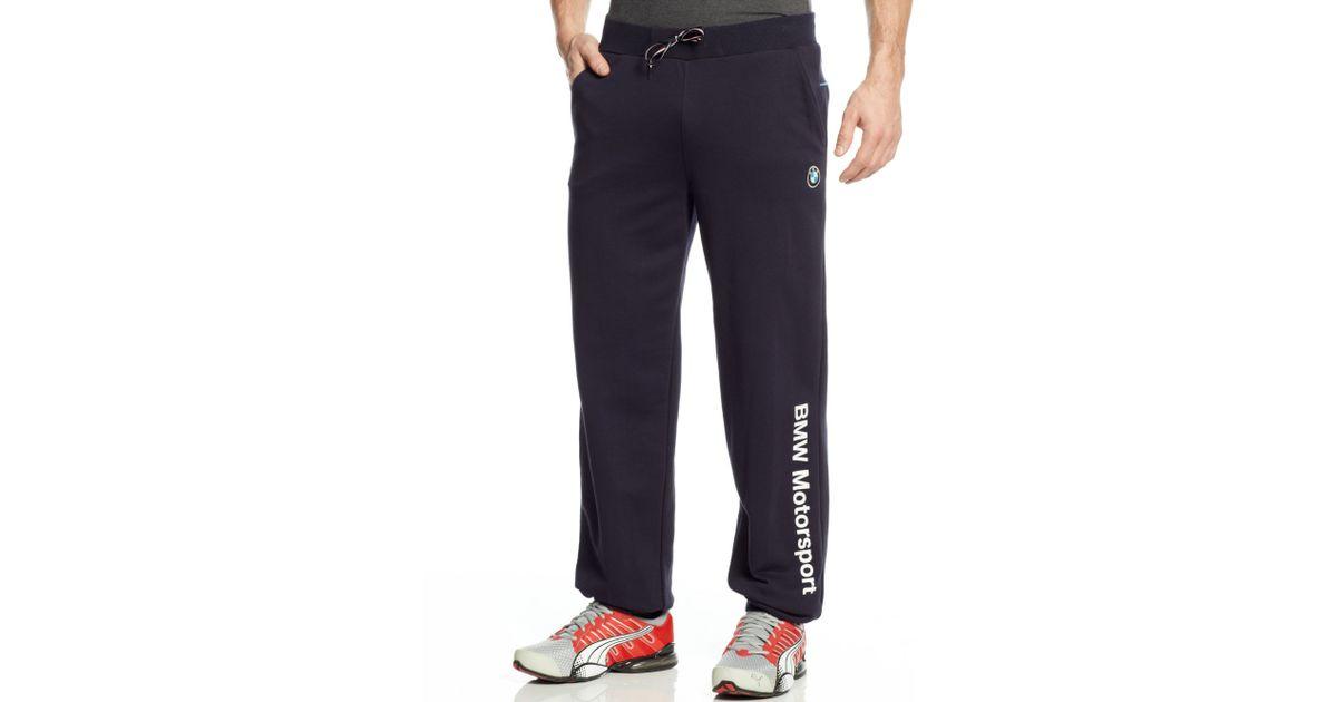 Blue Men Puma For Bmw Sweatpants Aqc45L3Rj