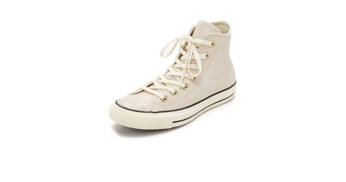 c2efcfacea8f Converse Chuck Taylor All Star Oil Slick Sneakers in Natural - Lyst