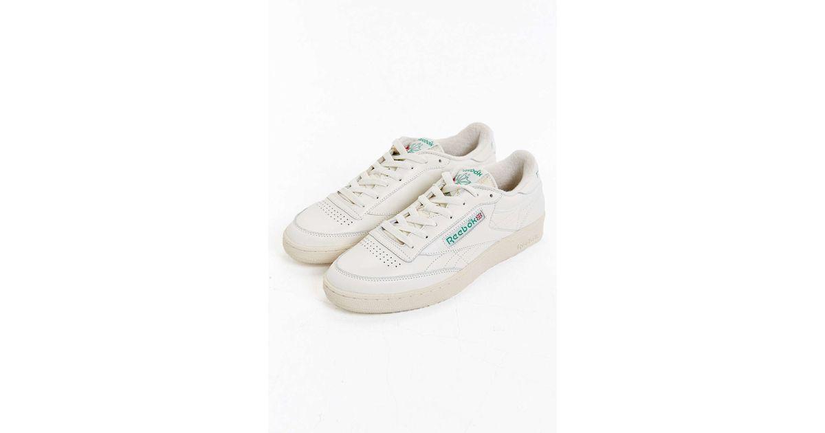 551dd6599cda Reebok Club C 85 Vintage Sneaker in White for Men