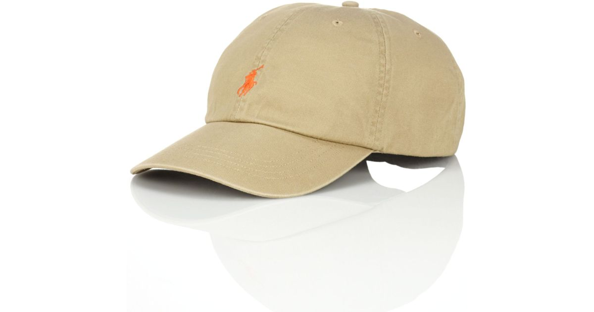 94156b06ddb Lyst - Ralph Lauren Polo Classic Chino Sports Cap in Natural for Men