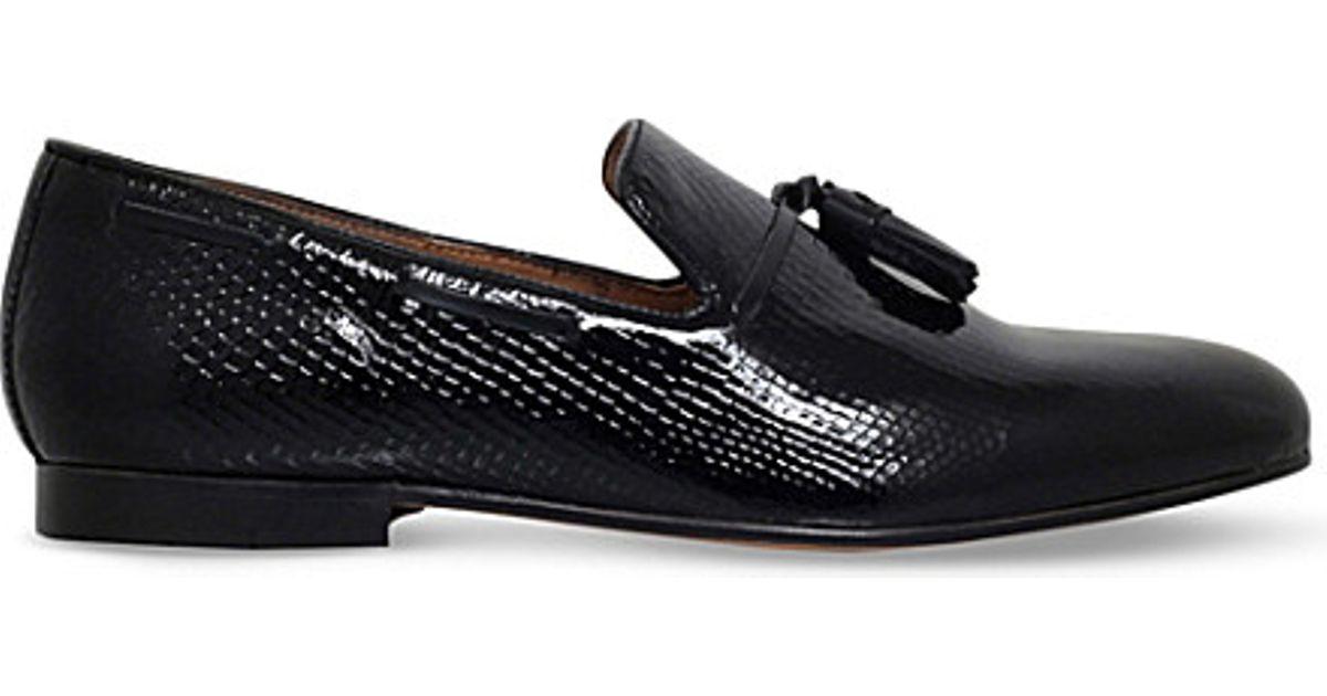 Kurt Geiger KG By Kurt Geiger Patent Loafers zfOLjn