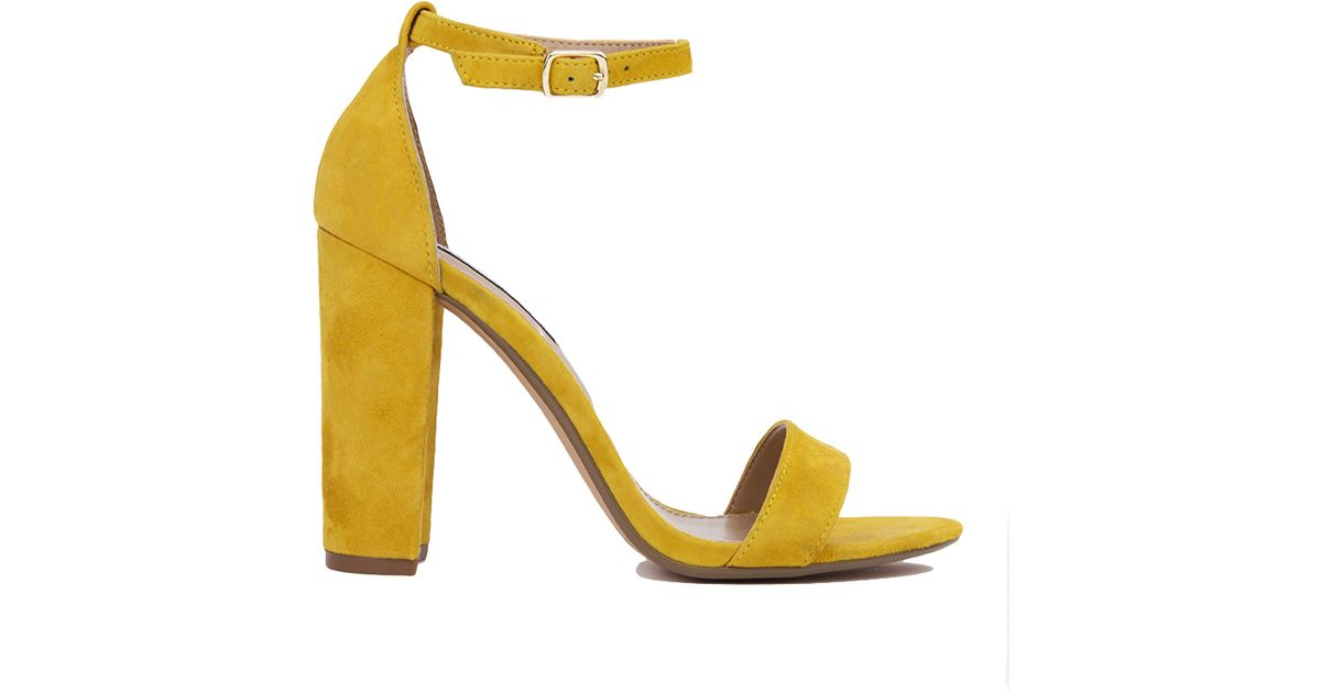 Steve Madden Carrson- Yellow Suede - Lyst