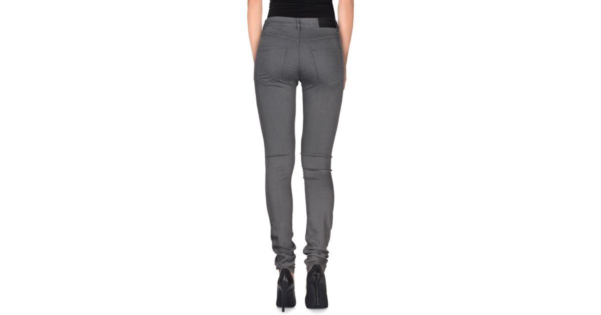b6408d8d10e7 Designers Remix Denim Trousers in Gray - Lyst