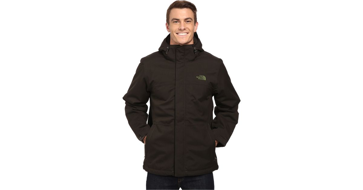 2646f7c9531a4 The North Face Inlux Insulated Jacket in Black for Men - Lyst