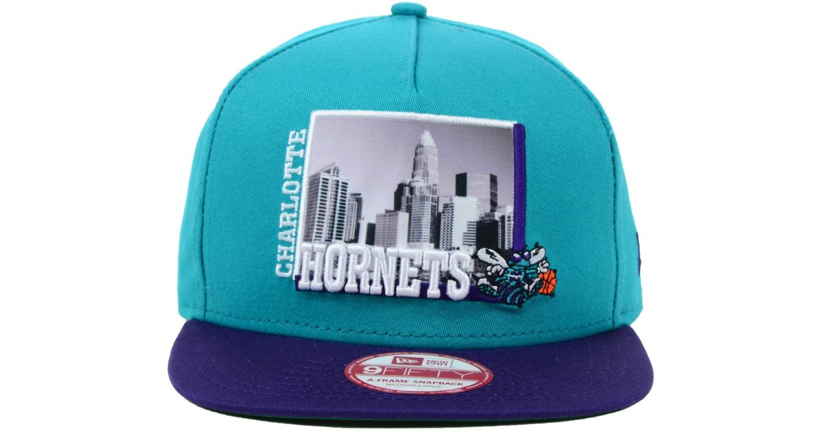 another chance big discount shoes for cheap KTZ Charlotte Hornets Nba Hardwood Classics 9fifty Snapback Cap in ...