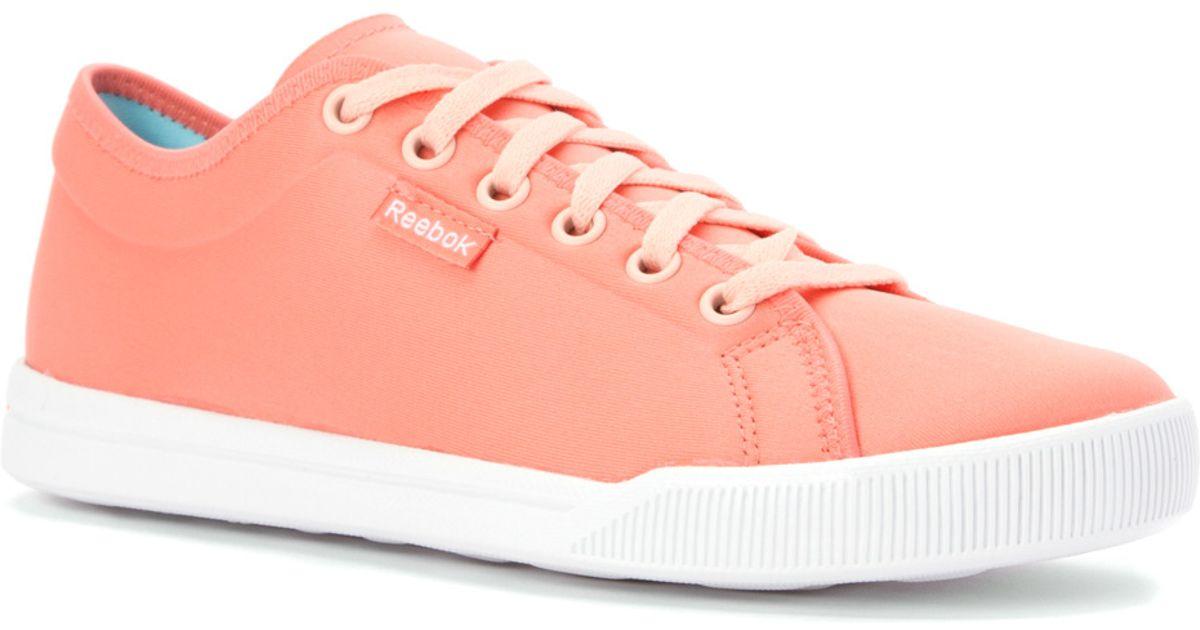 5fd38548c732 Lyst - Reebok Skyscape Runaround 2.0 Walking Shoe in Pink