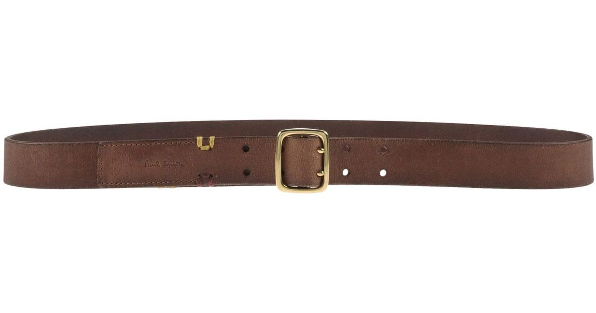 paul smith belt in brown brown save 24 lyst