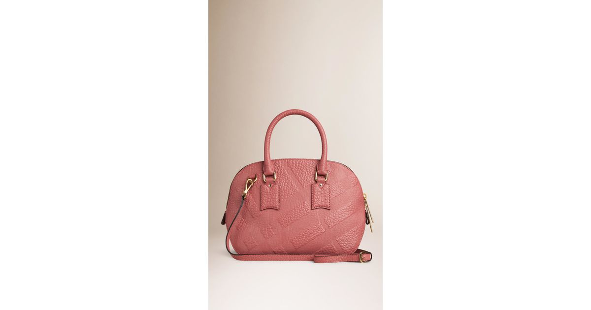 911cd8ced83 Burberry Embossed Check 'orchard' Bag - Lyst