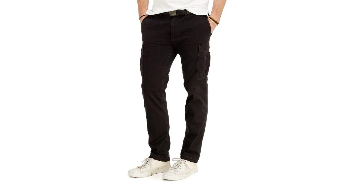 Ralph Lauren Black Slim Cargo Twill Fit Polo Pant XiOPZku