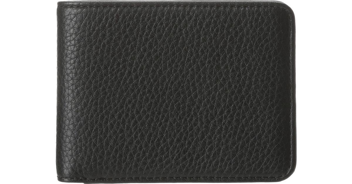 647c21574e8f Bosca - Black Tribeca Continental Id Wallet for Men - Lyst
