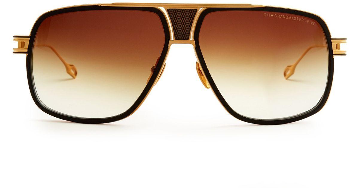 36b99dfe7d1 Dita Grandmaster-five Sunglasses in Metallic for Men