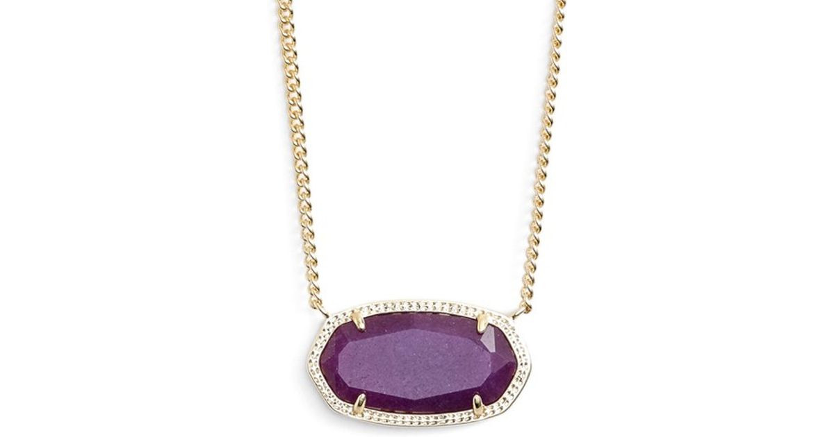 Purple Stone Necklace Jewelry & Watches
