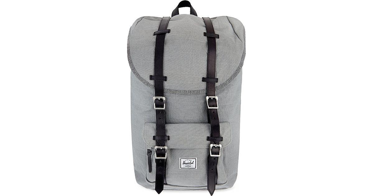 559cde08cbd6 Herschel Supply Co. Little America Hemp Backpack in Gray for Men - Lyst