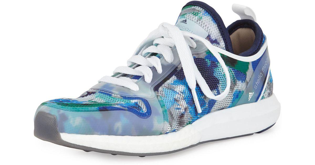 Adidas by Stella McCartney CC Sonic Lyst malla zapatilla en azul para los hombres