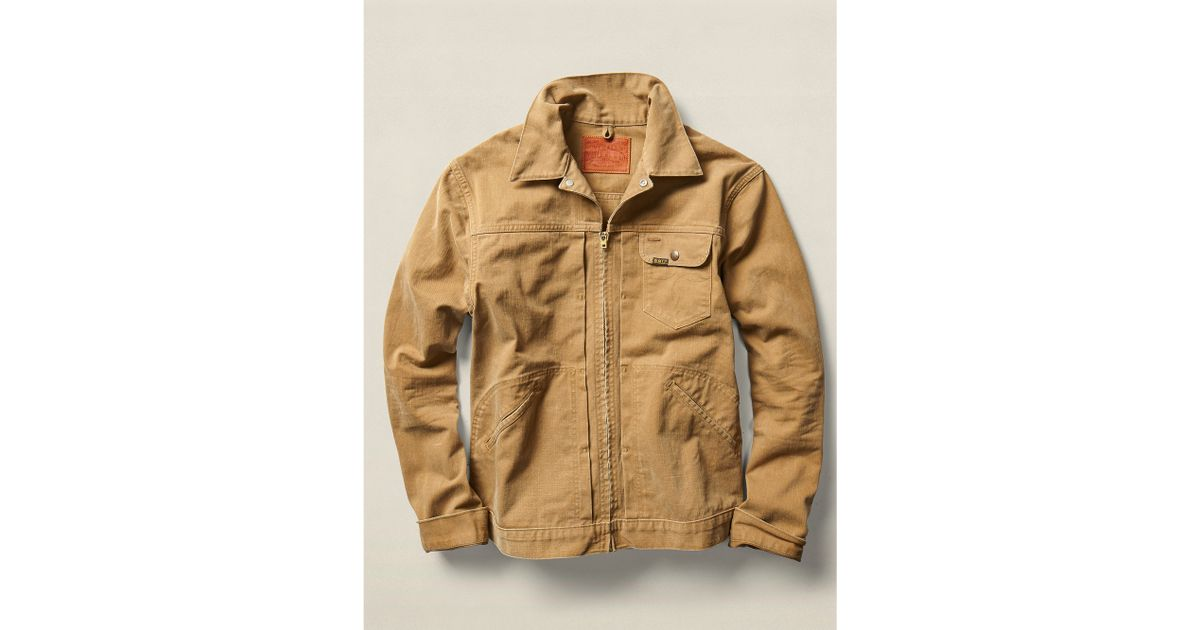 Lyst - Rrl Cotton Twill Jacket in Brown for Men