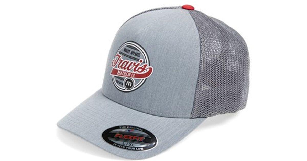 ... clearance lyst travis mathew cloon trucker hat in gray for men 5b1b9  b7af7 730b4fc49a11