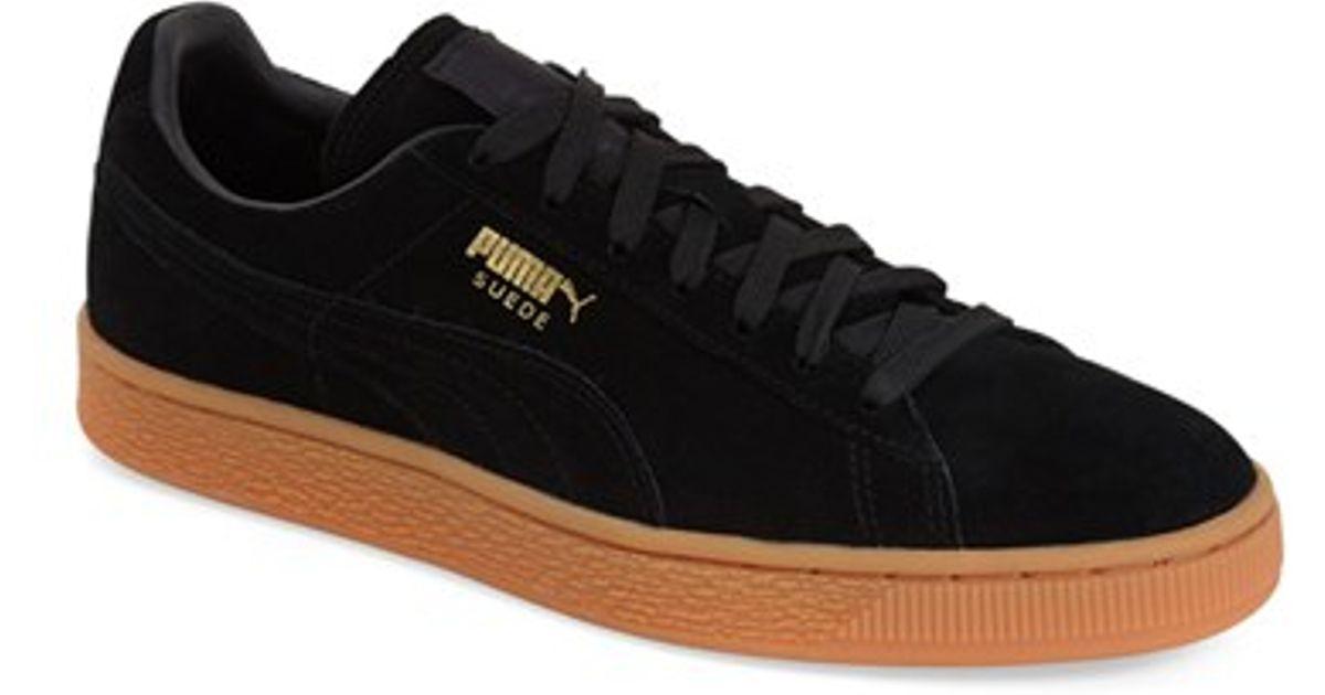 Gum Men Black Puma Winter For Sneakers Suede rxtsCQdh