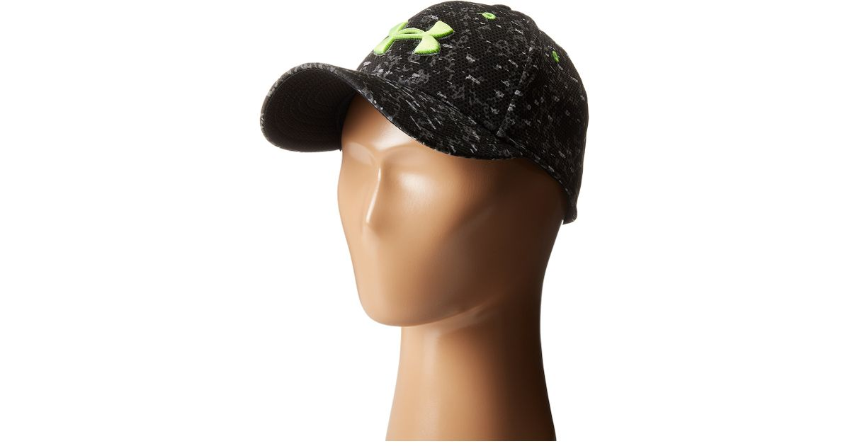 94570e518f6 Lyst - Under Armour Ua Printed Blitzing Cap (youth) in Black for Men