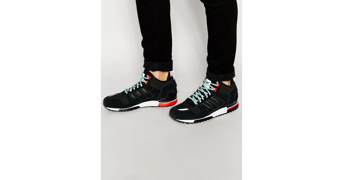 d114a39f0cb9fb Lyst - adidas Originals Zx 700 Winter Trainers B35236 in Black for Men