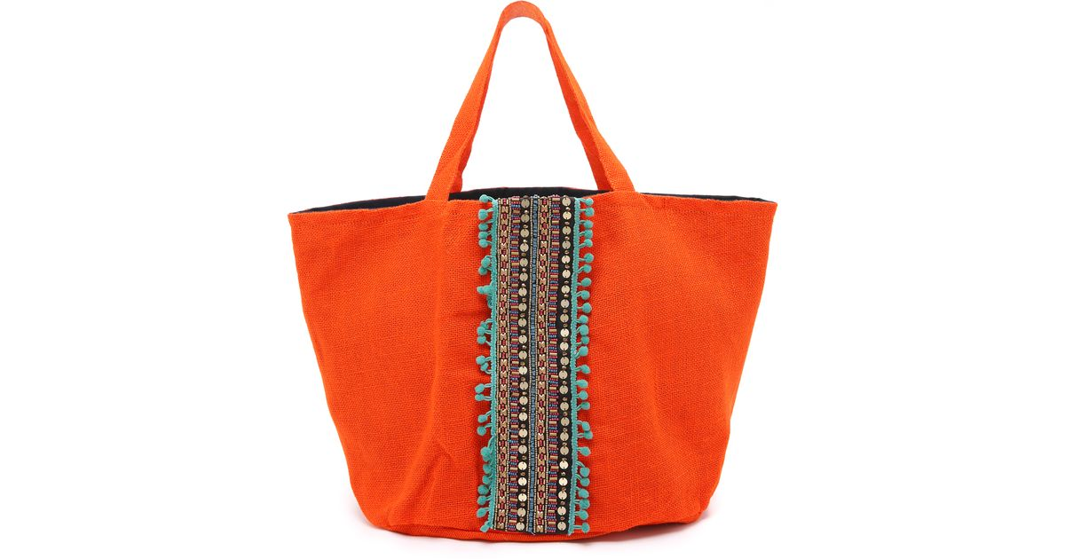 13c73d0a3119 Ondademar Embellished Tote - Multi - Lyst