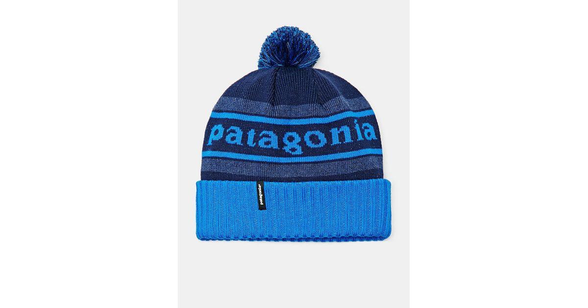 409c977d5 Patagonia Blue Powder Town Beanie for men