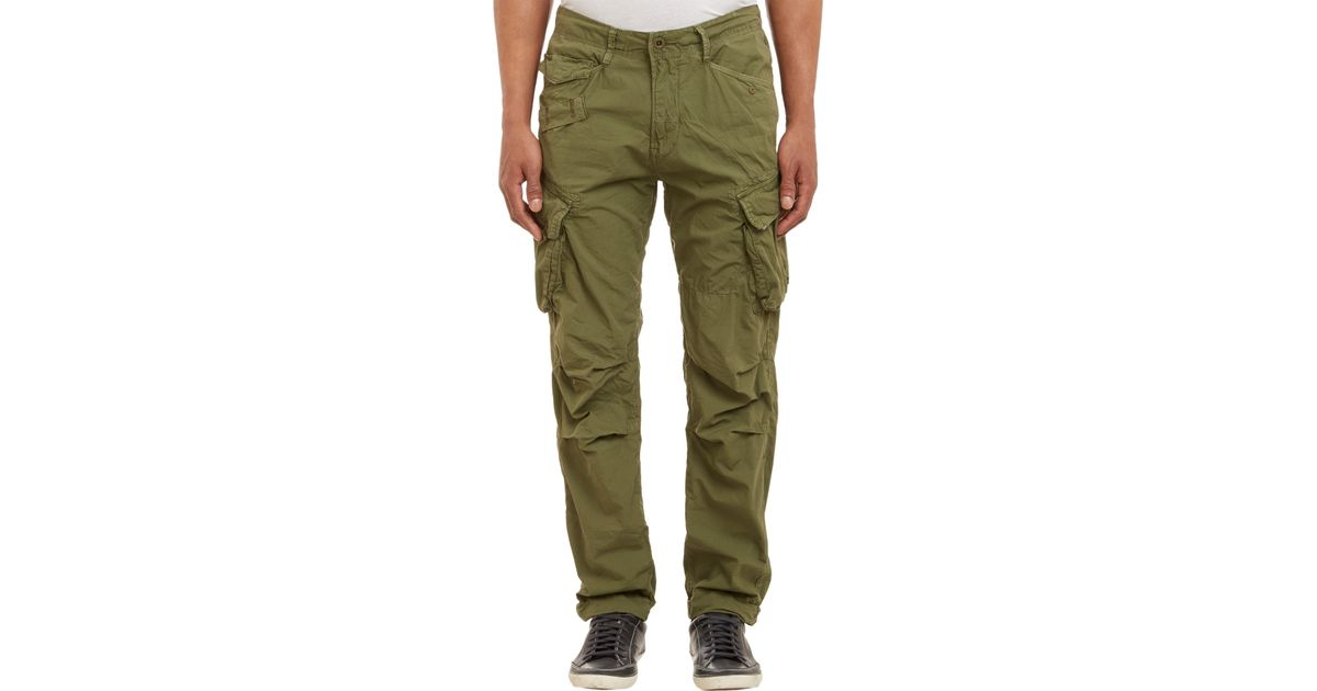 Hypermoderne G-Star RAW Rovic Tapered Cargo Pants Olive in Green for Men - Lyst ZY-87