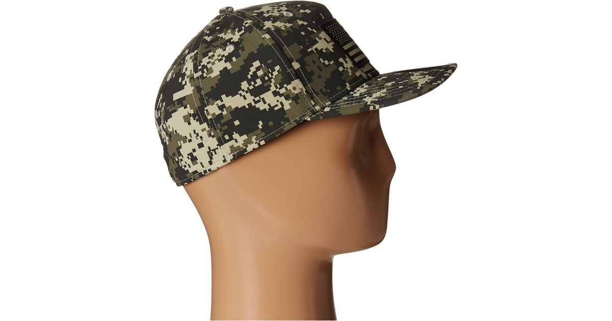 1408a46d1 Under Armour Green Ua Alter Ego Camo Flag Cap for men