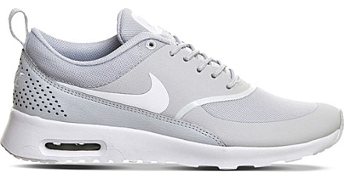 Nike Gray Air Max Thea Trainers