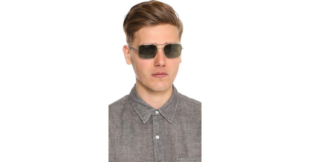 Oliver Men For Sunglasses Metallic Peoples Oro De 8wPX0Okn