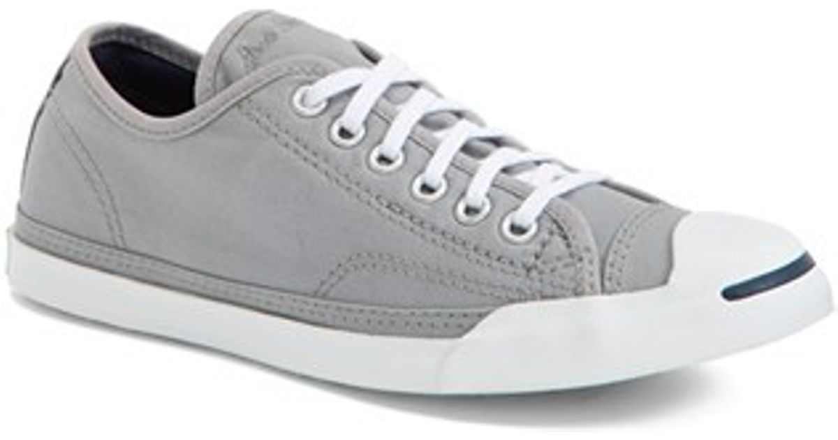 Lyst - Converse  jack Purcell  Low Top Sneaker in Gray 1ff66dd23